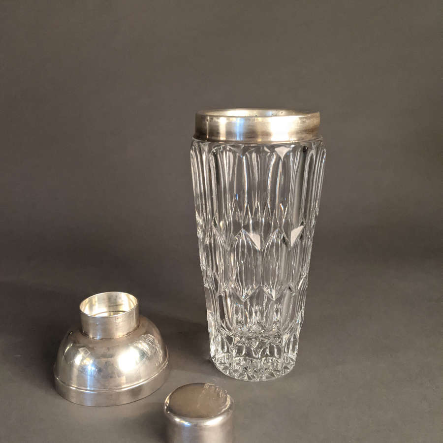 Val St Lambert Cocktail Shaker