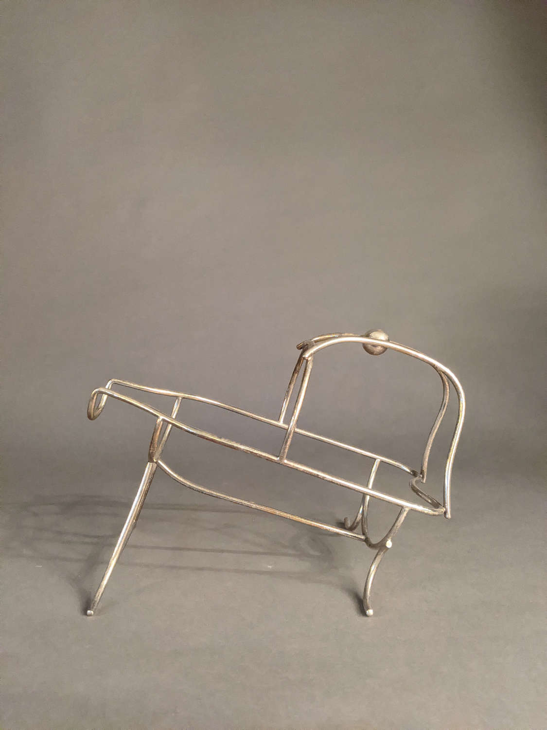 Silver Plated Wine Cradle