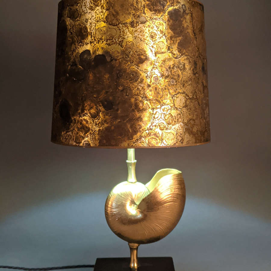 French Shell Lamp