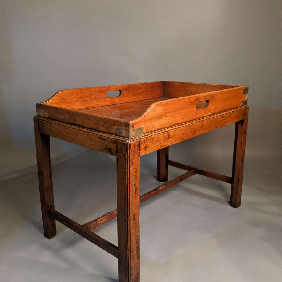 Oak Butler's Tray and Stand